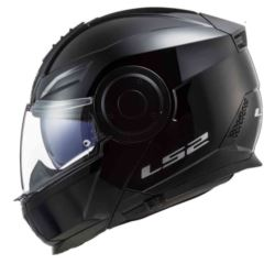 KASK LS2 FF902 SCOPE SOLID GLOSS BLACK M + PINLOCK