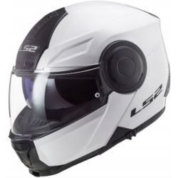 KASK LS2 FF902 SCOPE SOLID WHITE XL + PINLOCK