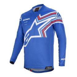 KOSZULKA CROSS ALPINESTARS MX RACER BRAAP BLUE XL