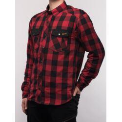 KOSZULA BROGER ALASKA RED/BLACK XL