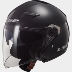 KASK LS2 OF569 TRACK SOLID MATT BLACK L