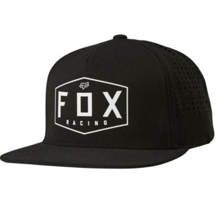 CZAPKA Z DASZKIEM FOX CREST SNAPBACK BLACK OS