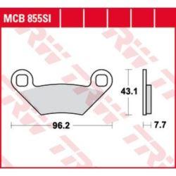 KLOCKI HAMULCOWE MCB855SI