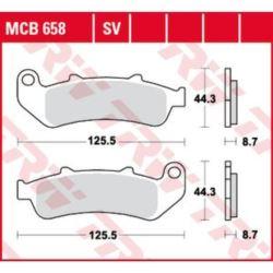 KLOCKI HAMULCOWE MCB658SV