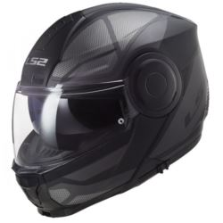 KASK LS2 FF902 SCOPE AXIS BLACK TITAN M + PINLOCK