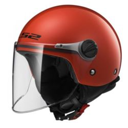 KASK LS2 OF575J WUBY JUNIOR  RED L