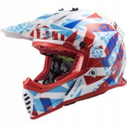 KASK LS2 FAST MX437 EVO MINI FUNKY RED WH. M