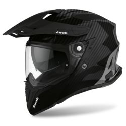KASK AIROH COMMANDER CARBON FULL GLOSS L