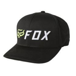 CZAPKA FOX APEX FLEXFIT BLACK/YELLOW L/XL