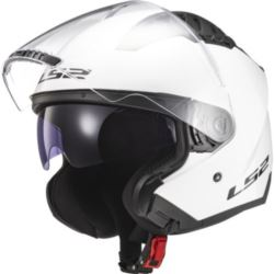 KASK LS2 OF600 COPTER SOLID WHITE S