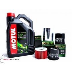 OLEJ MOTUL 5100 10W40 4L+FILTR QUAD KYMCO MXU 500 06-10